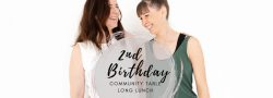 2nd Birthday Community Table Long Lunch
