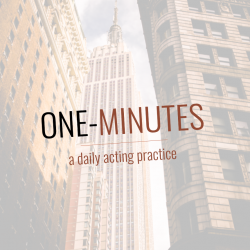 One Minutes: The Actor's PUSH