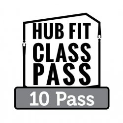 HubFit Class Pass Punch Pass (10)