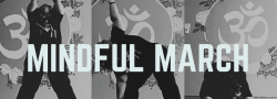 Mindful March 4 week series in person class