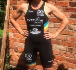 Performance trisuit women's racerback - size small only