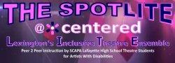 Spotlite Theatre Workshop with Jacob Ernst