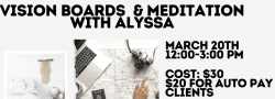 Vision Boards & Meditation - In Person