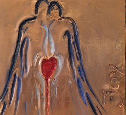 Angels Whisper-Copper Engraving-Joy