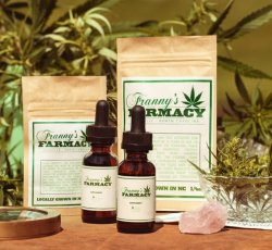 Franny's Farmacy Hemp Oil 500mg