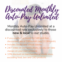 Discounted Monthly Auto-Pay Unlimited