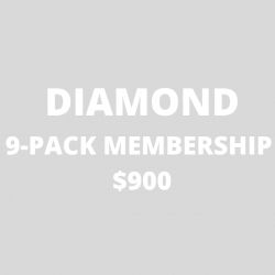 DIAMOND 9-Pack Annual Membership