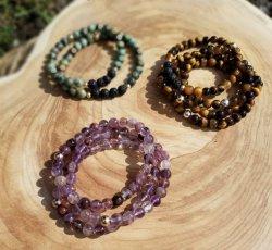 Violet & Jade Bracelets