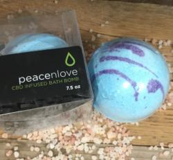 Peace N Love CBD Bath Bomb