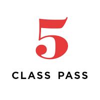 Virtual/Live Streaming 5 Class Pass