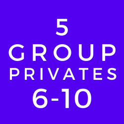 6-10 Person Group Private Lesson (5 Class Package)