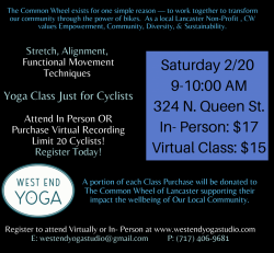 The Common Wheel: Poses with Purpose Virtual Class
