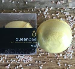 Queen Bee CBD Bath Bomb