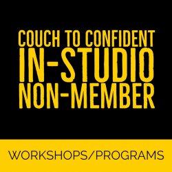 Couch To Confident - In-Studio Non-Member - Jan-Apr 2020