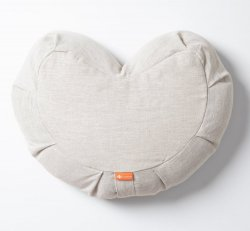 Halfmoon Meditation Cushion - Limited Edition - Natural Linen