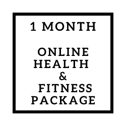 Online Health & Fitness Package