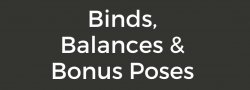 ZOOM WORKSHOP - Binds, Balances, and Bonus Poses