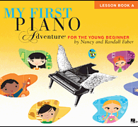 My First Piano Adventures Lesson Book and CD and Online Audio Book A