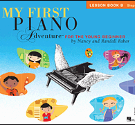 My First Piano Adventures Lesson Book and CD and Online Audio Book B