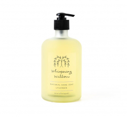 NATURAL HAND SOAP - LARGE GLASS PUMP