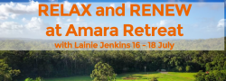 RELAX & RENEW at Amara Retreat with Lainie Jenkins
