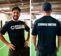 Men's Moisture Wicking Stronger Together Tee