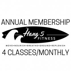 Annual membership 4 Classes per Month