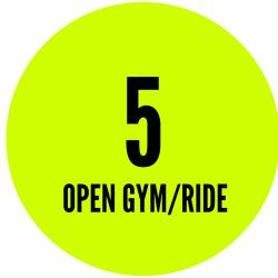 OPEN GYM/OPEN RIDE