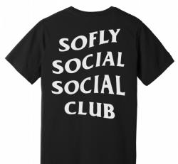 soFly Social Social Club Unisex T-shirt