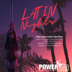 Latin Nights | Pole and Latin Dance Fusion | Single | No Groupons or Passes