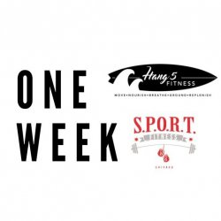 Week of Classes with Hang 5 Fitness and SPORT Fitness Chicago