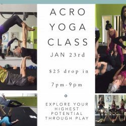 Acro Yoga Class