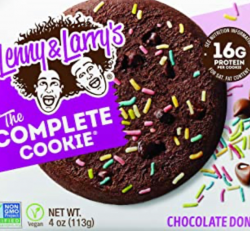 Lenny and Larry's The Complete Cookie Chocolate Donut Flavour