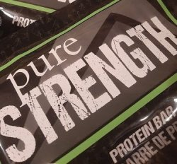 Pure Strength Protein Bars 25 bar pack
