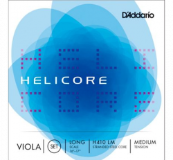 "D'Addario Helicore H410 LM Viola String Set 16""-17"""
