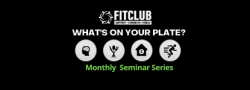 WHAT'S ON YOUR PLATE? Seminar Series