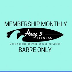 Barre Only Unlimited Class Membership