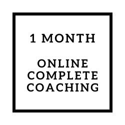 Online Complete Coaching Package
