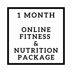 Online Fitness & Nutrition Package