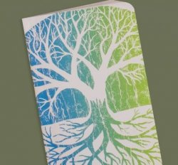 Tree of Life Recycled Notebook