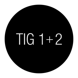 TIG 1 and 2