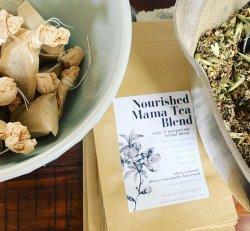 Pre & Postpartum Herbal Blend by Bitterroot Teas