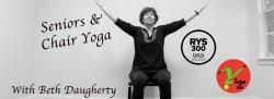 Seniors and Chair Yoga