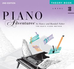 Piano Adventures: Level 3B Theory Book (2nd Ed)