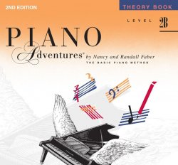 Piano Adventures: Level 2B Theory Book, (2nd Ed)