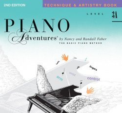 Piano Adventures: Level 3A Technique & Artistry Book, (2nd Ed)