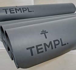 Templ. Yoga Mat (Dark Grey)