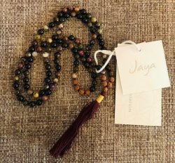Watermelon Tourmaline Mala