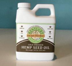 Hemp Seed Oil by Kentucky Hemp Works