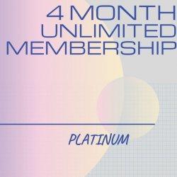 4 Month Unlimited PLATINUM Membership